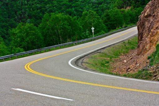 Free Stock Photo of Winding Road
