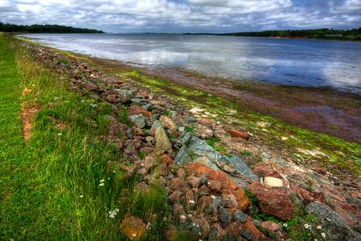 Free Stock Photo of PEI Coastal Scenery - HDR