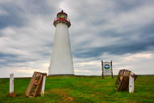 Free Stock Photo of Point Prim Lighthouse - HDR