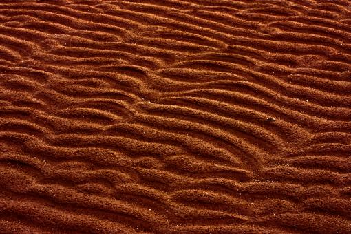 Free Stock Photo of Sand Ridges Texture