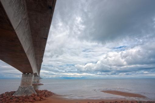 Free Stock Photo of Confederation Bridge - HDR