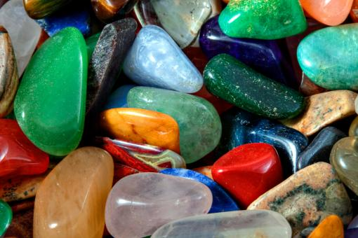 Free Stock Photo of Colorful Stones Texture - HDR