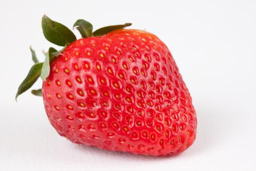 Free Stock Photo of Strawberry Close-up