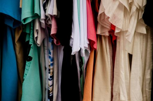 Free Stock Photo of clothes on sale