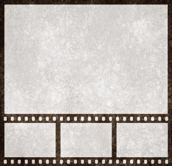 Free Stock Photo of Film Strip Grunge
