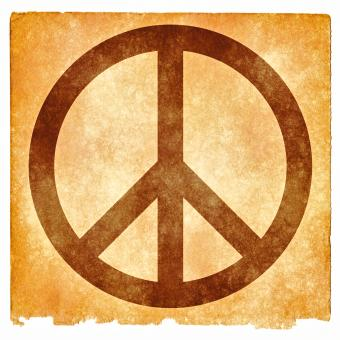 Free Stock Photo of Peace Grunge Sign