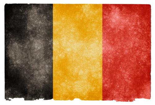 Free Stock Photo of Belgium Grunge Flag