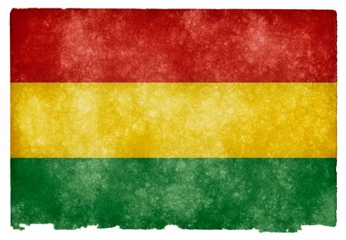 Free Stock Photo of Bolivia Grunge Flag