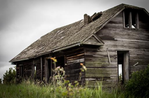 Free Stock Photo of Abandoned House