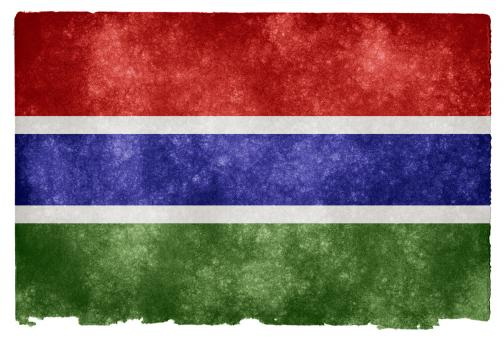 Free Stock Photo of Gambia Grunge Flag