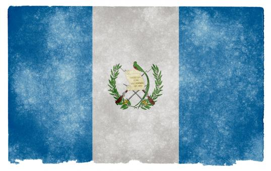 Free Stock Photo of Guatemala Grunge Flag