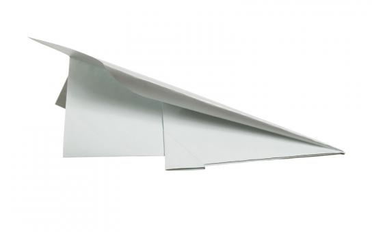 Free Stock Photo of paper plane