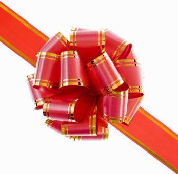 Free Stock Photo of Gift bow
