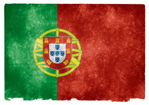Free Stock Photo of Portugal Grunge Flag