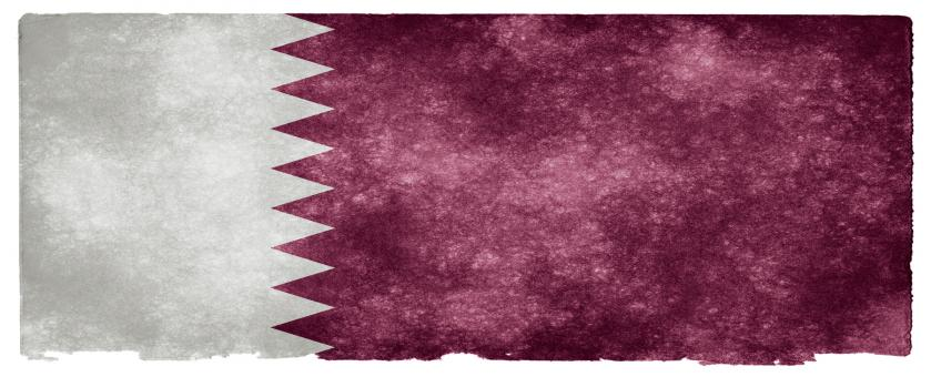 Free Stock Photo of Qatar Grunge Flag