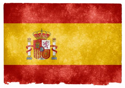 Free Stock Photo of Spain Grunge Flag