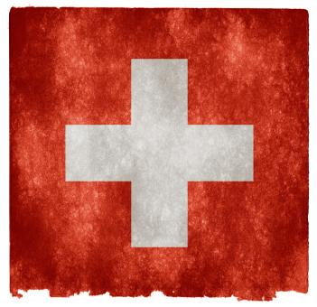 Free Stock Photo of Switzerland Grunge Flag