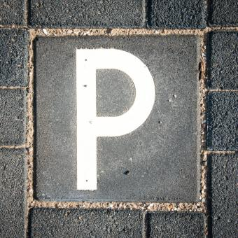 Free Stock Photo of parking sign