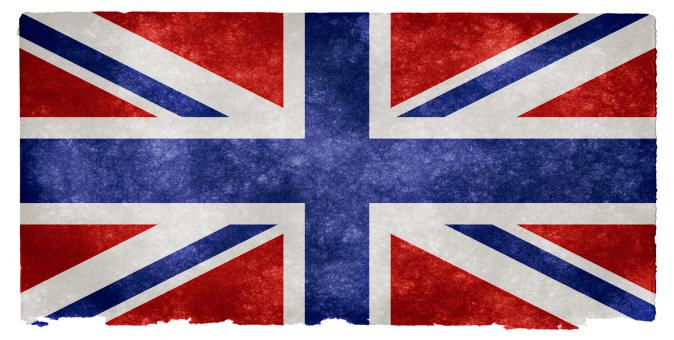 Free Stock Photo of UK Grunge Flag - Inverted