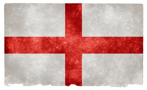 Free Stock Photo of England Grunge Flag