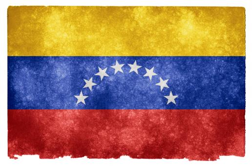 Free Stock Photo of Venezuela Grunge Flag