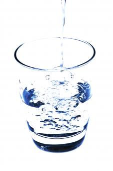 Free Stock Photo of Glass of Water