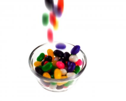 Free Stock Photo of Jellybeans