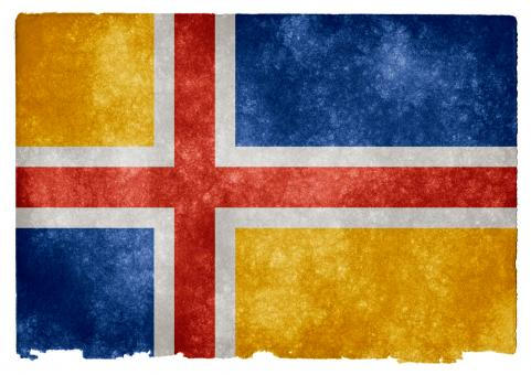 Free Stock Photo of United Scandinavia Grunge Flag