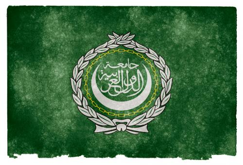 Free Stock Photo of Arab League Grunge Flag