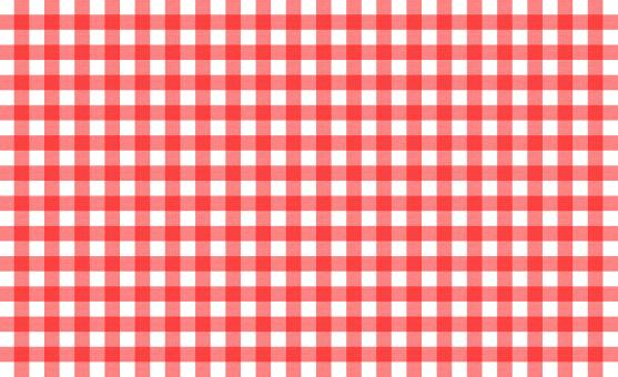 Free Stock Photo of Red and white tablecloth pattern