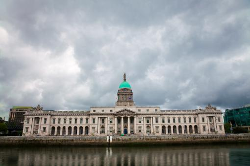 Free Stock Photo of Dublin Custom House