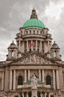 Free Stock Photo of Belfast City Hall - HDR