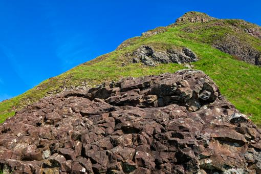 Free Stock Photo of Causeway Mountain - HDR
