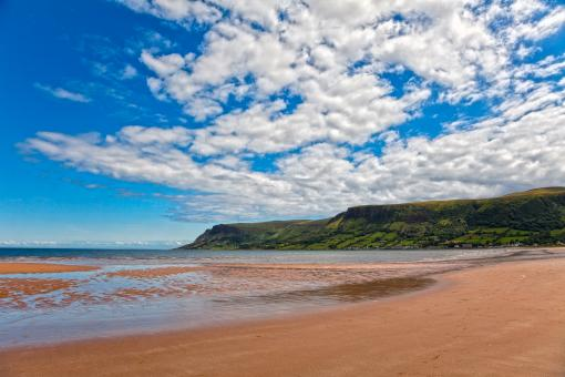 Free Stock Photo of Waterfoot Beach - HDR