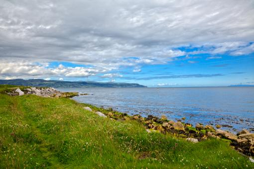 Free Stock Photo of East Antrim Scenery - HDR