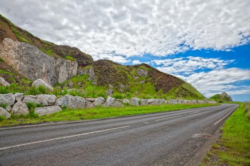 Free Stock Photo of East Antrim Country Road - HDR