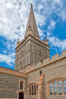 Free Stock Photo of Saint Columbs Cathedral - HDR