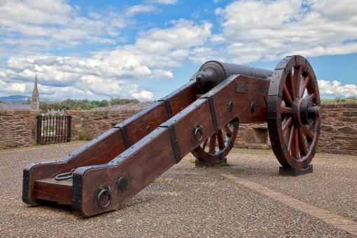 Free Stock Photo of Derry Cannon - HDR