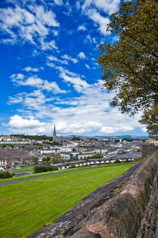 Free Stock Photo of Derry Cityscape - HDR