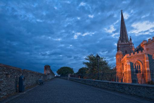 Free Stock Photo of Derry Twilight - HDR