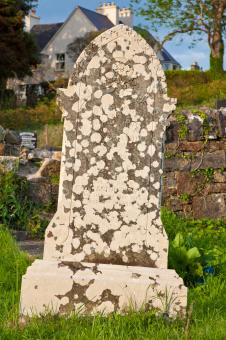 Free Stock Photo of Donegal Cemetery Tombstone