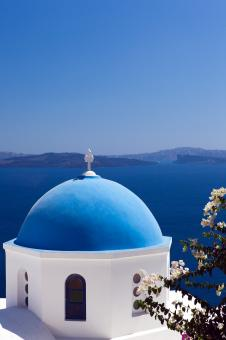 Free Stock Photo of Santorini