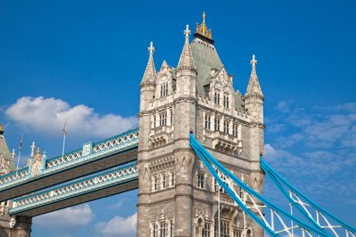 Free Stock Photo of Tower Bridge - HDR