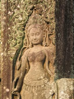 Free Stock Photo of Angkor Wat Sculpture