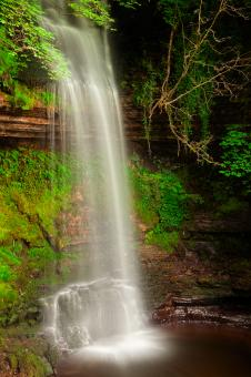 Free Stock Photo of Glencar Falls - HDR