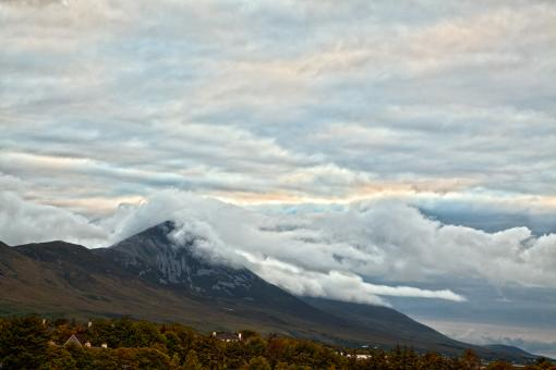 Free Stock Photo of Croagh Patrick - HDR