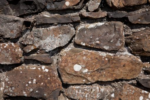 Free Stock Photo of Old Stone Wall Texture