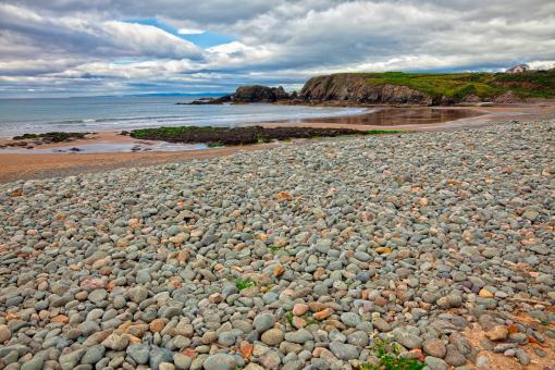 Free Stock Photo of Annestown Beach - HDR