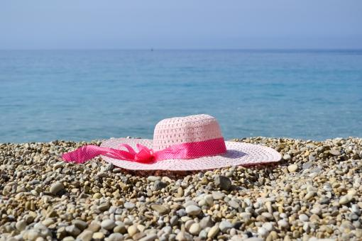 Free Stock Photo of Hat near the sea
