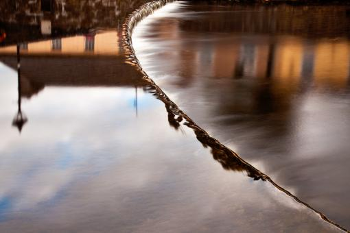 Free Stock Photo of Flowing Water Abstract